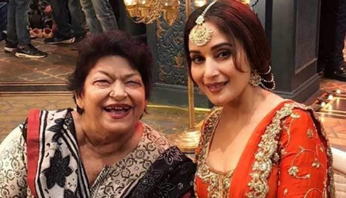 Madhuri Dixit devastated by loss of her guru Saroj Khan, says 'will miss you'!