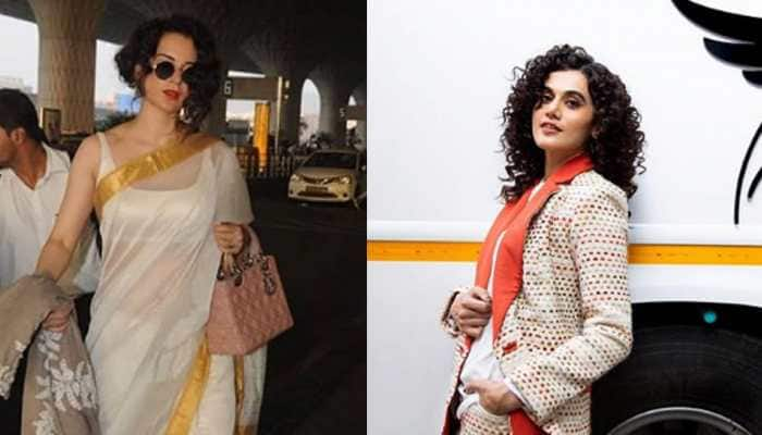 Bollywood News: Kangana Ranaut's team accuses Taapsee Pannu of ganging up on her