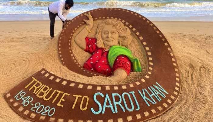 Sudarsan Pattnaik's touching tribute to legendary choreographer Saroj Khan will make you teary-eyed!