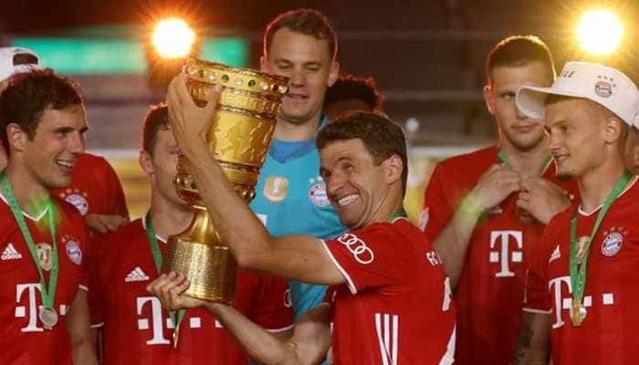 Bayern Munich see off Leverkusen 4-2 to win 20th German Cup title