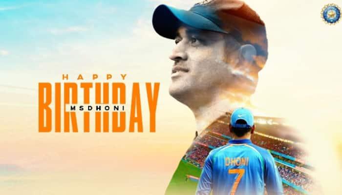 Mahendra Singh Dhoni turns 39, BCCI wishes former Team India skipper