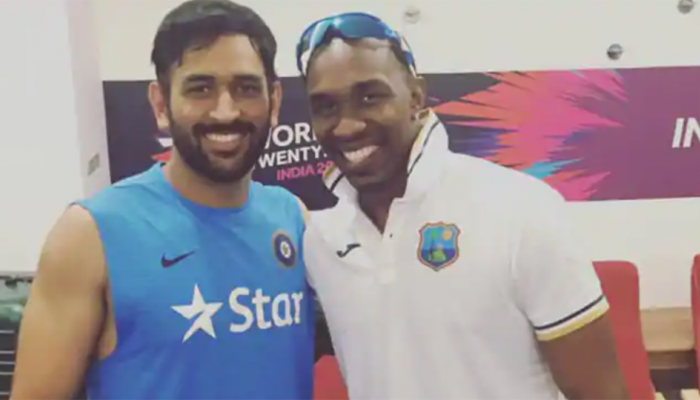 Dwayne Bravo releases song for birthday boy MS Dhoni; Raina, Pandya wish former Team India skipper