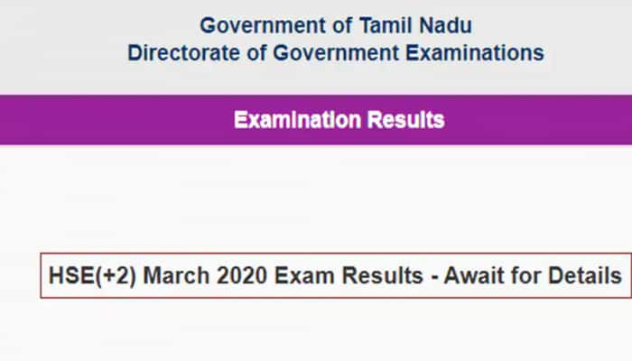 Suspense over Tamil Nadu Class 12 board result 2020 continues, check tnresults.nic.in, dge1.tn.nic.in, dge2.tn.nic.in
