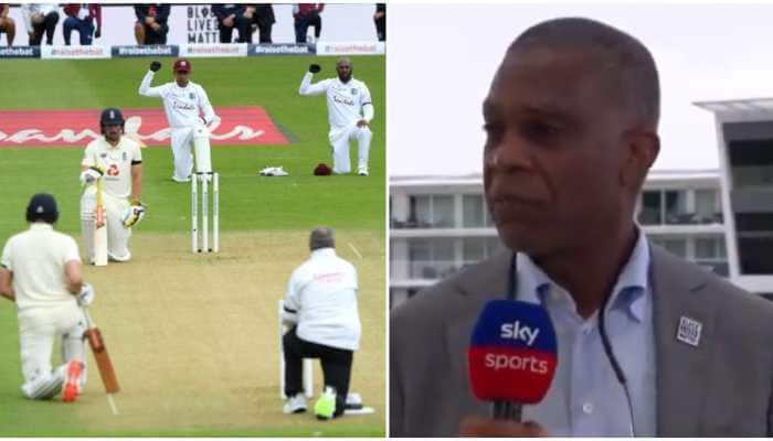Michael Holding says need to educate entire human race to stop racism; England, West Indies players take-a-knee before 1st Test