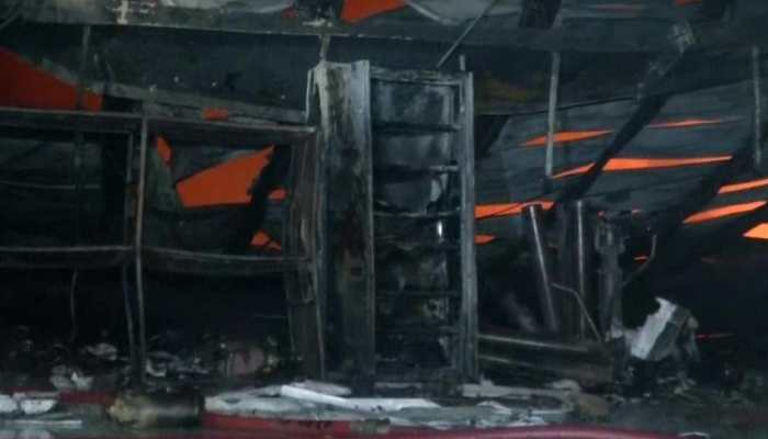 Major fire breaks out at warehouse in Delhi's Mundka area