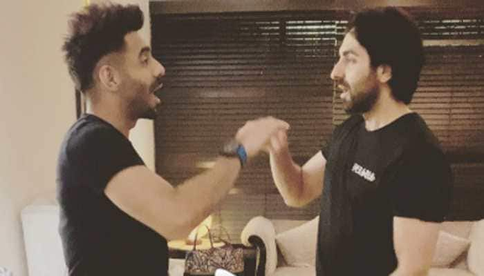 Aparshakti Khurana turns childhood game 'Aam Lelo' into a catchy song with brother Ayushmann Khurrana - Watch