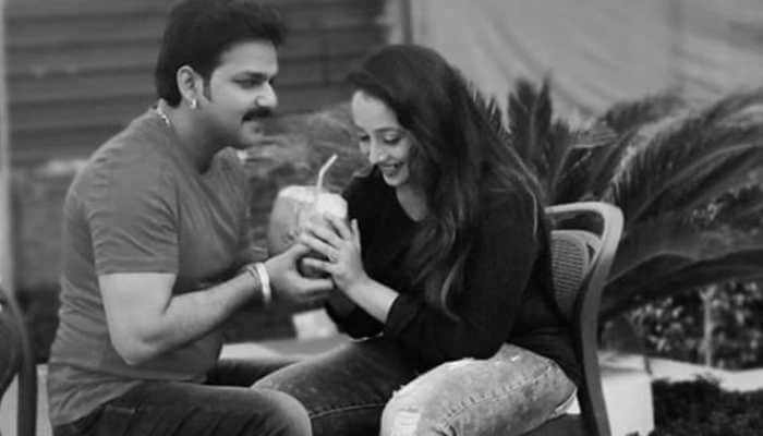 This pic of Bhojpuri stars Rani Chatterjee and Pawan Singh calls for a freeze frame