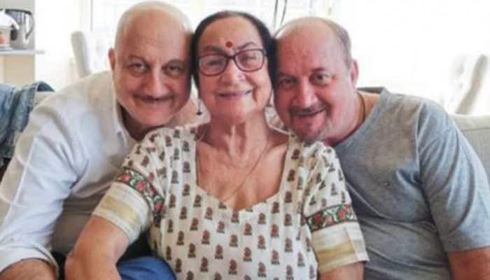 Anupam Kher's mother Dulari, brother Raju and his family test positive for coronavirus