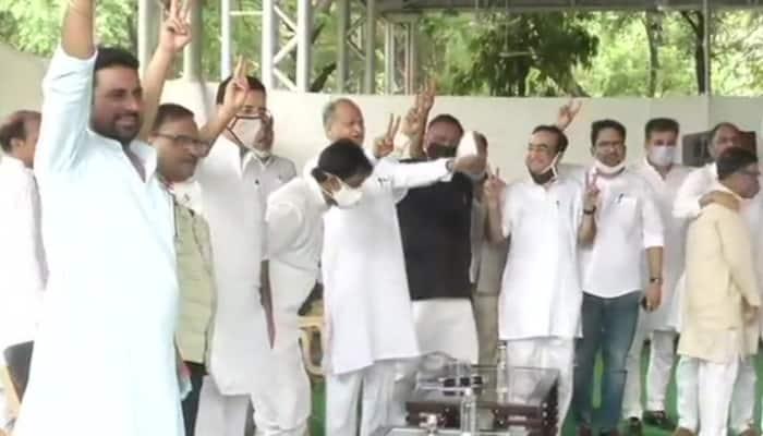 Rajasthan crisis: Congress Legislature Party seeks action against those conspiring to destabilise Ashok Gehlot government