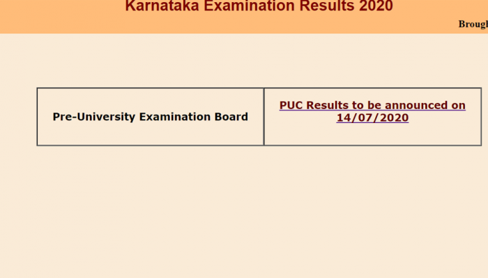 Karnataka 2nd PUC results 2020 to be released today at karresults.nic.in, here's how to check online