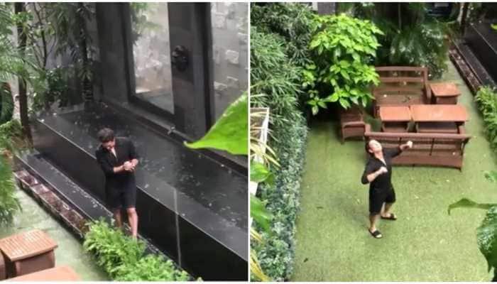 Sachin Tendulkar enjoys 'simpler joys of life', drenches himself in Mumbai rains; daughter Sara shoots video