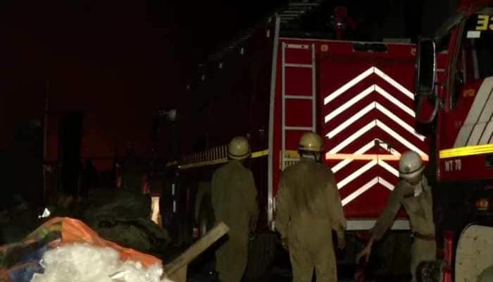 Fire breaks out at Shahbad Dairy area in Delhi, around 70 shanties gutted