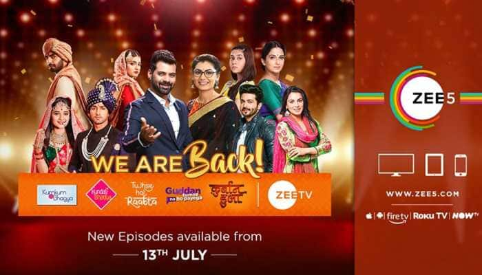 All new episodes of marquee TV shows back on air on ZEE5 Global