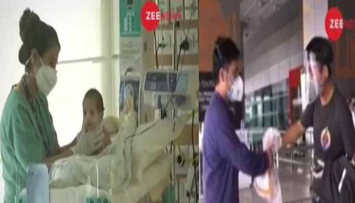 Baby undergoes surgery in Delhi, receives mother's milk from 1000 km away