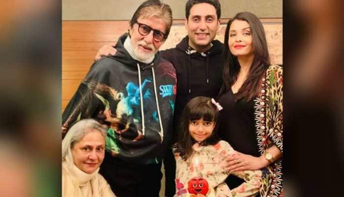 Coronavirus positive Amitabh Bachchan shares pic with Abhishek, Aishwarya and Aaradhya, expresses gratitude to well-wishers