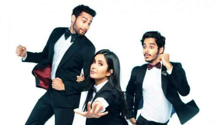 Katrina Kaif, Ishaan Khatter and Siddhant Chaturvedi announce new film 'Phone Booth'. Details here