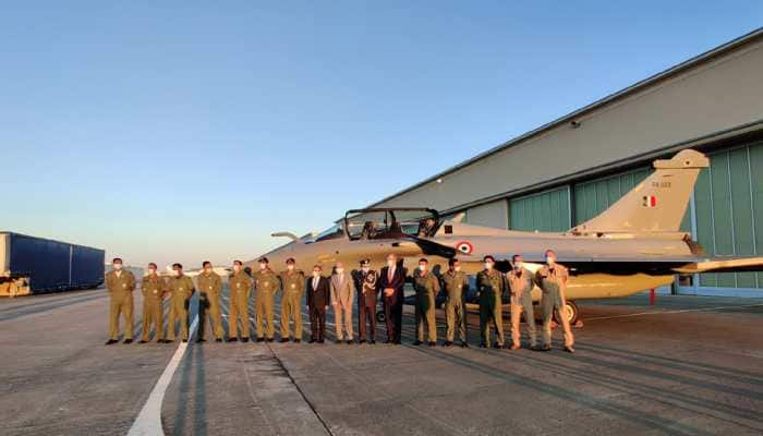First batch of 5 Rafale fighter aircraft flies out of France for India - Watch