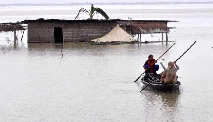Assam flood situation improves marginally but affects over 19 lakh people, kills 105