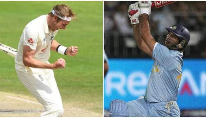 Every time I write something about Stuart Broad, people relate to 6 sixes: Yuvraj Singh asks fans to applaud his 500 Test wickets