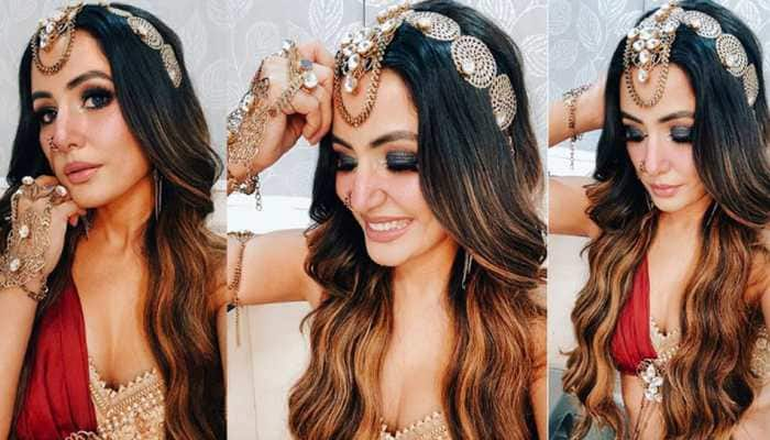 Hina Khan's steaming 'Naagin 5' look sets internet on fire, actress excited to play lead - In Pics