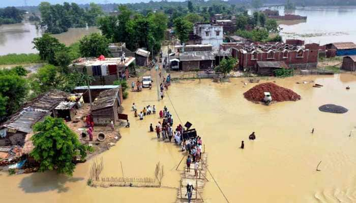 More than 45 lakh people affected due to floods across 14 districts in Bihar