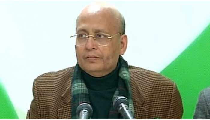 Make China fear India, follow aggressive policy against Beijing, says Abhishek Singhvi
