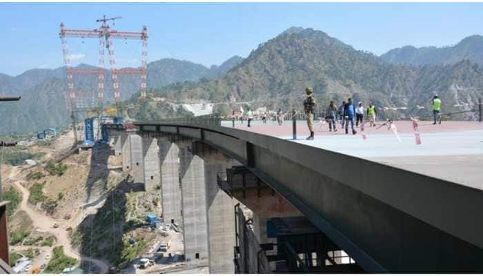 World's highest railway bridge over Chenab river in Jammu and Kashmir to be ready by 2021
