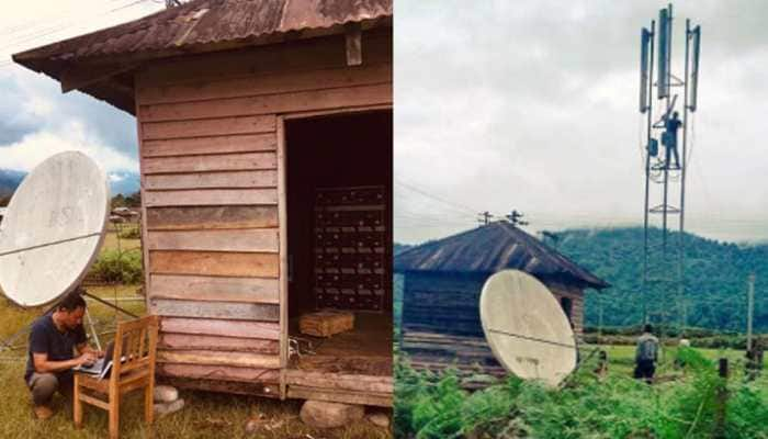 Remotest place in Arunachal Pradesh's Changlang receives 2G mobile connectivity