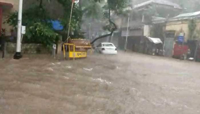 Maharashtra rains: IMD issues red alert for Mumbai, Thane, Palghar and Ratnagiri; trains suspended between Mumbai Central-Churchgate