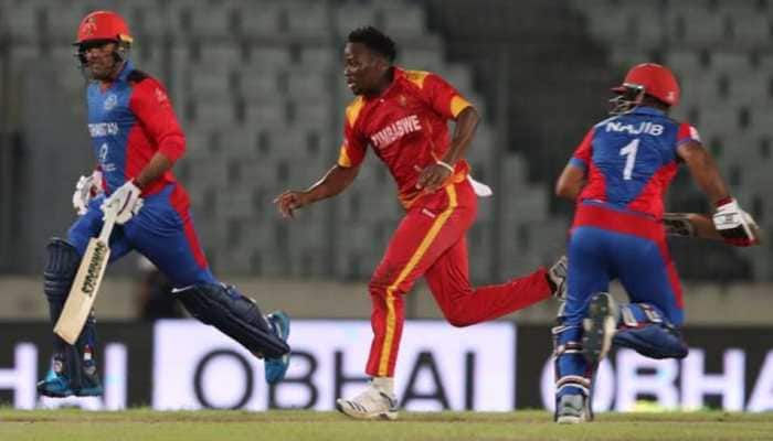 Zimbabwe's T20I series against Afghanistan called off due to coronavirus