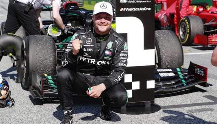 Valtteri Bottas pips Lewis Hamilton to 70th Anniversary Grand Prix pole