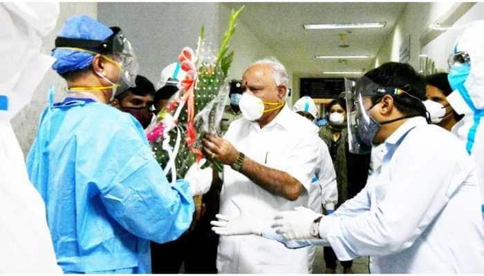 Karnataka CM BS Yediyurappa discharged from hospital after recovering from coronavirus COVID-19