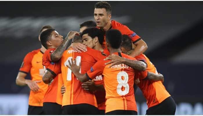 Shakhtar Donetsk beat FC Basel 4-1 to set up Europa League semi-final against Inter Milan
