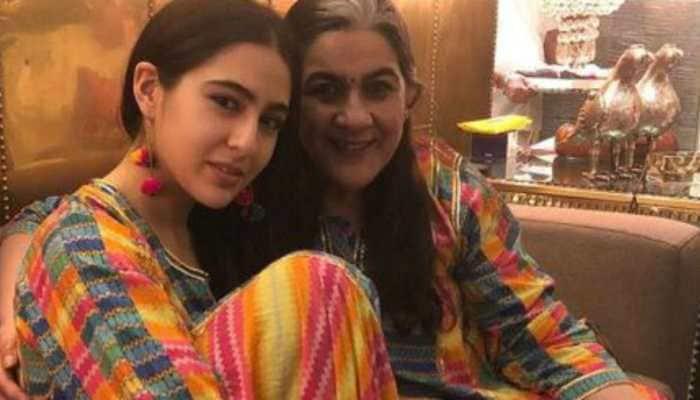 Birthday girl Sara Ali Khan pens special note for mom Amrita Singh