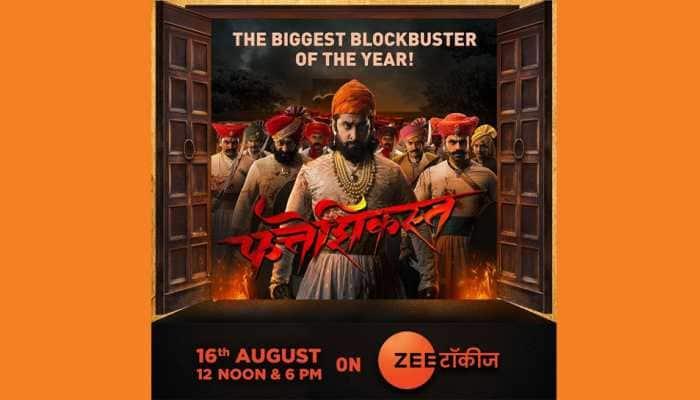 Watch the Biggest Blockbuster of the Year - 'Fatteshikast' on Zee Talkies