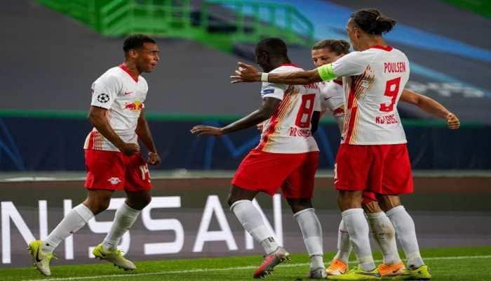 RB Leipzig stun Atletico Madrid to reach Champions League last four