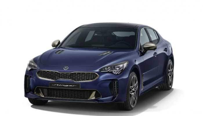 Kia Stinger sports sedan first images officially released – Check out exterior and interior pics