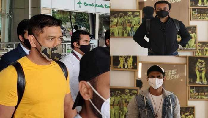 MS Dhoni, other CSK players arrive in Chennai for training camp ahead of IPL 2020