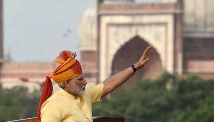 PM Narendra Modi's schedule on 74th Independence Day