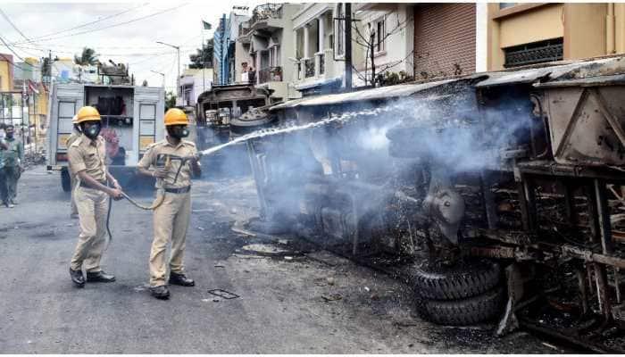 Bengaluru violence: Over Rs 20 lakh gold stolen, property worth Rs 50 lakh damaged, alleges Congress MLA Akhanda Srinivas Murthy in FIR