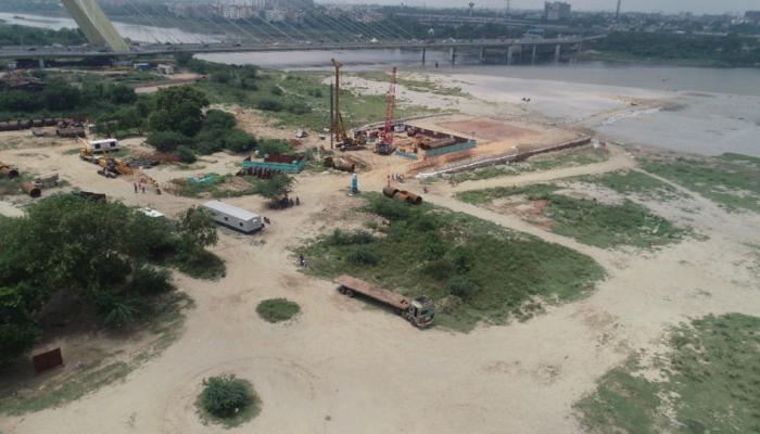 Delhi Metro Rail Corporation starts preliminary work on 5th bridge over Yamuna river