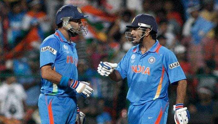 Yuvraj Singh fondly remembers 'lifting World Cup trophies' with former India captain Mahendra Singh Dhoni