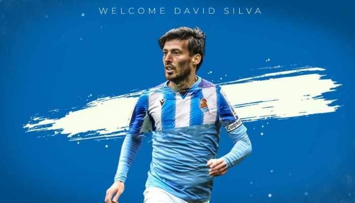 Real Sociedad confirms signing of David Silva on a two-year deal