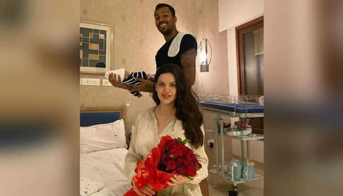 Hardik Pandya And Natasa Stankovic Name Baby Boy Agastya See His Cute Pics People News Zee News