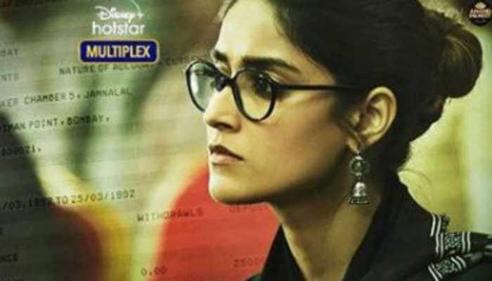 Ileana D'Cruz's look from Abhishek Bachchan's 'The Big Bull' unveiled