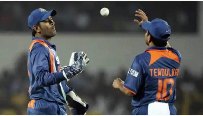 Saw MS Dhoni's match-reading skills standing in slips and told BCCI he is next captain: Sachin Tendulkar