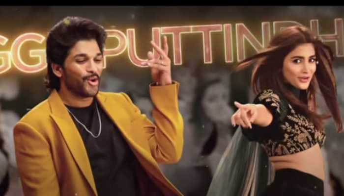South sensation Pooja Hegde and Allu Arjun's fun shot from 'Ramuloo Ramulaa' song goes viral - Watch
