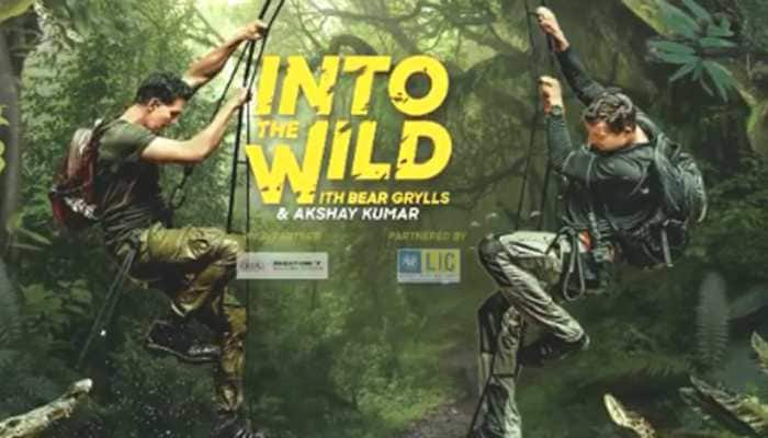 Akshay Kumar's daredevil avatar in Bear Grylls's 'Into The Wild' to entice viewers, first promo out - Watch