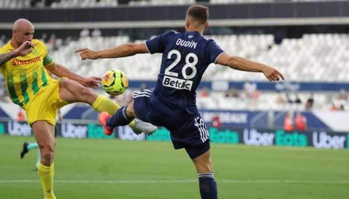 10-man Bordeaux held by Nantes as Ligue 1 makes sluggish return