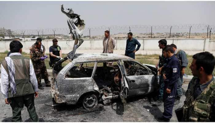 3 IED blasts rock Afghanistan's capital Kabul; 1 dead, four injured
